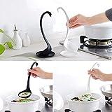 Baost 1Pc Creative Long Handle Standing Spoon