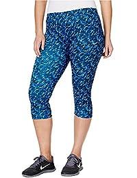Nike Women's Plus Size Dri-FIT Essential Printed Running Capris