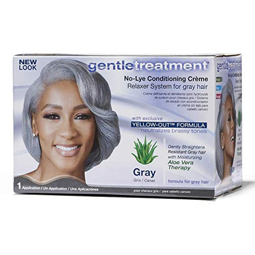 No Lye Conditioning Crème Relaxer for Gray Hair ()