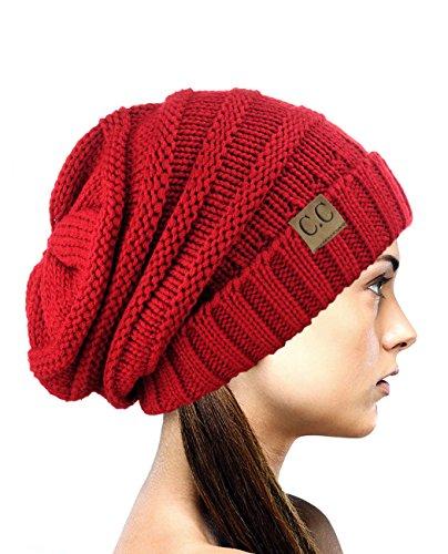 Red Winter Beanie - 4