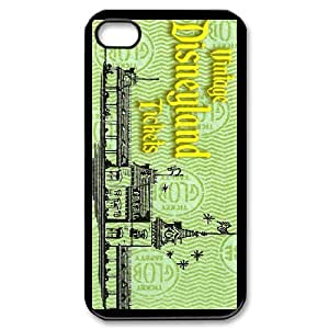 Disneyland for iPhone 4,4S Phone Case Cover D5618