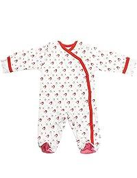 Babysoy Baby Organic Cotton Pattern Footie