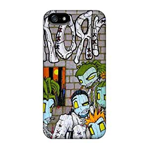 Shockproof Hard Phone Covers For Iphone 5/5s With Provide Private Custom Realistic Korn Pictures JasonPelletier