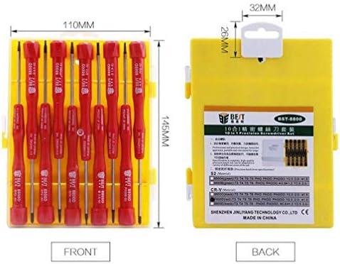 BEST-8800D ドライバーセット10イン1 iPhone iPad iPodシリーズ用ドライバーオープニングツール 修理 キット