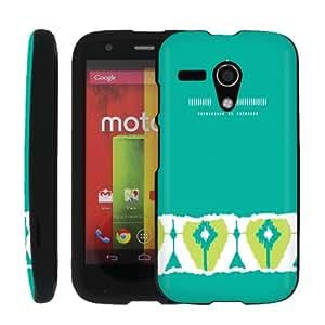 [ManiaGear] Design Shell Cover Case (Blue Troqua) for Motorola Moto G / Motorola DVX XT1032