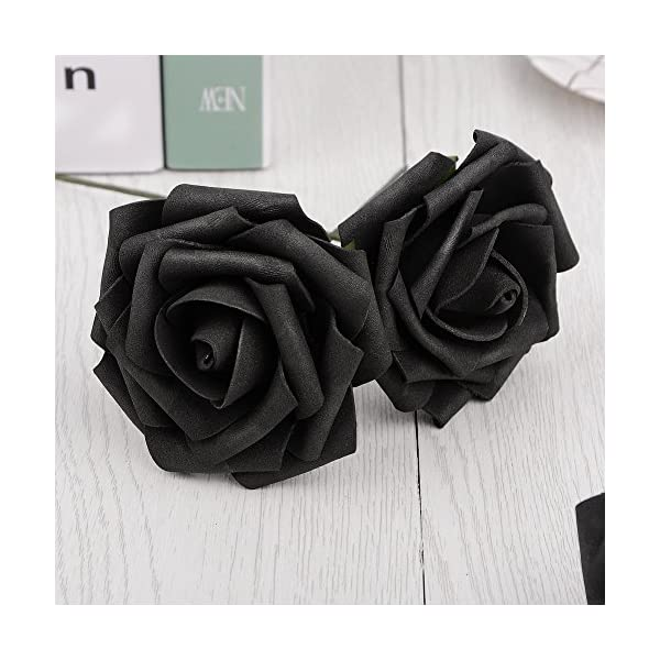 Artificial-Flowers-Dark-Orange-Roses-Real-Looking-Fake-Roses-DIY-Wedding-Bouquets-Centerpieces-Arrangements-Party-Baby-Shower-Home-Decorations
