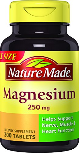 Top 10 recommendation magnesium nature made 250 mg