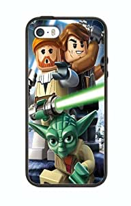 Case Cover Silicone Iphone 4 4s Protection Design 4slg9 Logo Lego Game and Movie
