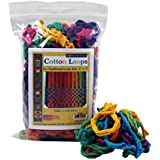 """Harrisville Designs Traditional 7"""" Cotton Loops, Multi-color Pack"""