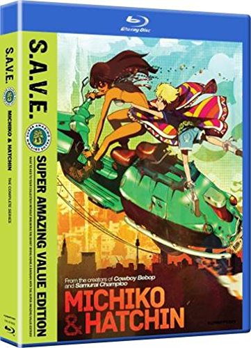 Blu-ray : Michiko & Hatchin - Complete Series - S.A.V.E. (Boxed Set, Dubbed, , 4 Disc)