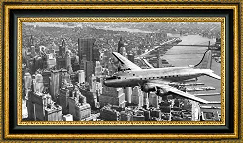 (Flying Over Manhattan, NYC by Anonymous - 22.25