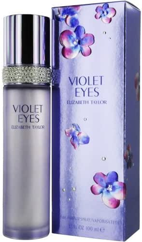 Violet Eyes by Elizabeth Taylor, Eau De Parfum Spray, 3.3-Ounce