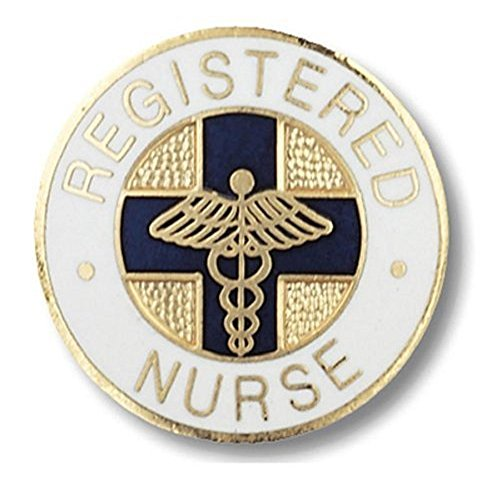 EMI Registered Nurse Round Emblem Pin