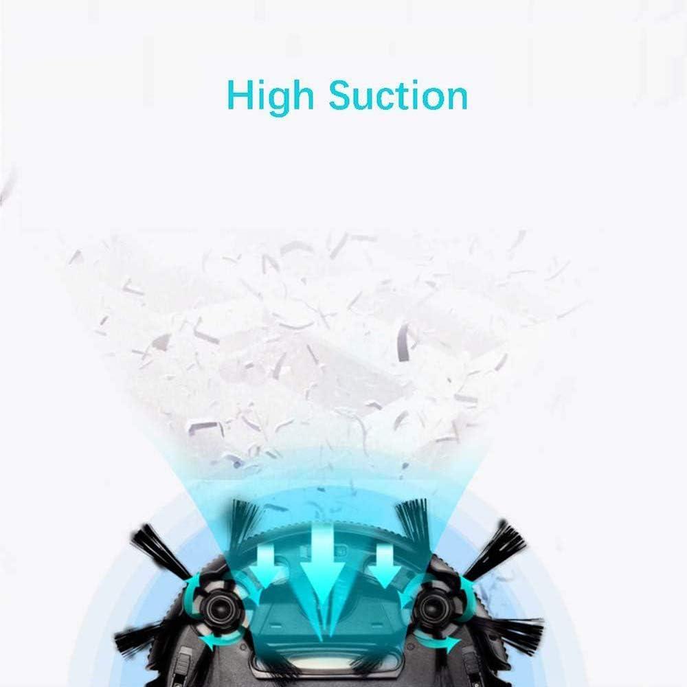 Aspirateur Robot, Capteur Anti-Collision Super Slim Aspirateur Robot Avec Aspiration Puissante, Rose Rose