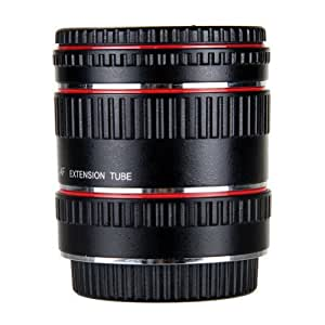 Neewer 13-21-31mm Metal Auto Focus TTL Macro Extension Tube Set, Extreme Close-Ups for Canon EOS DSLR SLR Camera Lens, fits Canon EOS 1d,1ds,Mark II, III, IV, 5D,Mark II, 7D, 10D, 20D, 30D, 40D, 50D, 60D, Digital Rebel XT XTi Xsi T1i T2i T3i T4i T5i T3 / 300D, 350D, 400D, 450D, 500D, 550D, 600D, 650D, 700D, 1000D