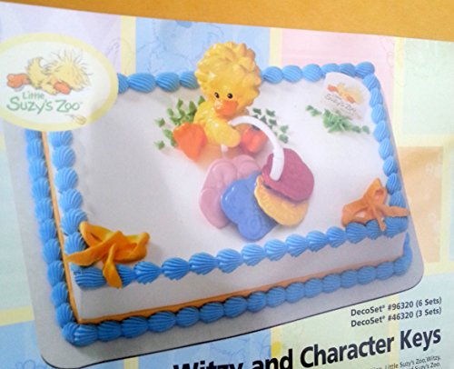 Suzys Zoo Witzy Cake topper Decoration Party Favor Baby Shower Duck