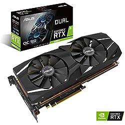 Amazon.com: ASUS GeForce RTX 2080 Ti 11G GDDR6 HDMI DP 1.4 ...