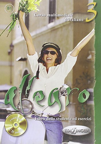 Allegro 3: Libro dello studente ed esercizi + CD