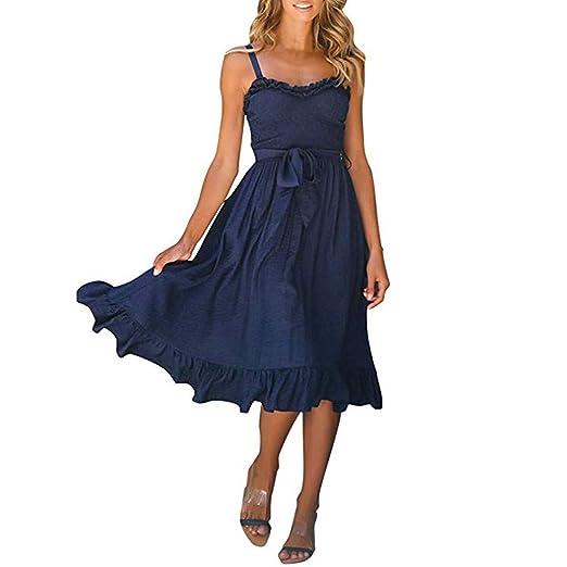 8935ecb17a8 Amazon.com  Clearance!! Womens Sleeveless Off Shoulder Dresses ...