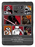 Star Wars Ep7 Battle Front Plush Twin Blanket, 62