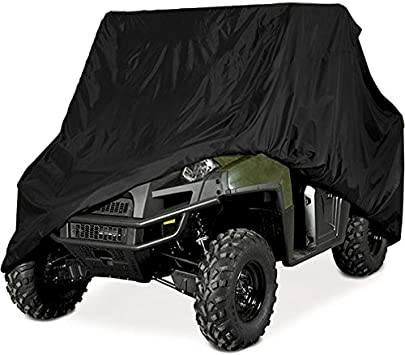 X-LARGE BLACK TRAILERABLE STORAGE COVER Ranger Viking Teryx Prowler UTV /& Others