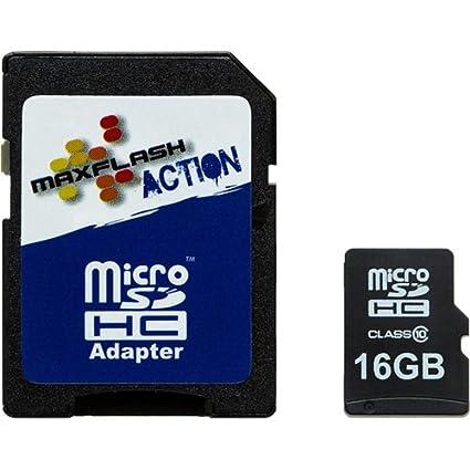 MaxFlash 16GB microSDHC Memoria Flash Clase 10 - Tarjeta de ...