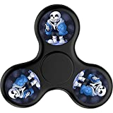 DANDAN-99 Custom Undertale sans Fidget Spinner Tri-Spinner High Speed Spin - Perfect For ADD ADHD Anxiety and Autism Adult Children