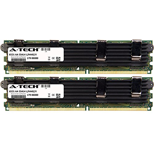 8GB KIT (2 x 4GB) for Apple Xserve Series Quad-Core/8-core 2.8GHz /3.0GHz (MA882LL/A) Xeon 2.8GHz (Early 2008). DIMM DDR2 ECC Fully Buffered PC2-6400 800MHz RAM Memory. Genuine A-Tech Brand.