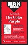 The Color Purple: Literature Study Guides (Max Notes)