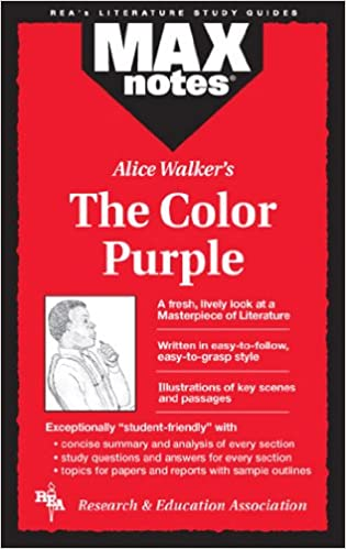 Amazon.com: The Color Purple: Literature Study Guides (Max Notes ...