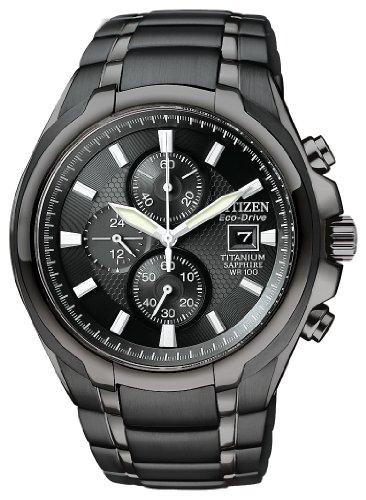 Citizen Mens CA0265-59E Eco-Drive Titanium Watch