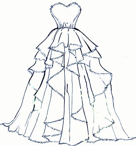 (Fair Maiden Dress Wedding Party Bride Scrapbooking Scrapbook Handmade DIY Craft Embossing Valentine's Day Card Paper Dies Cut Cutting Die Mold Tools Stencils Punch Metal)
