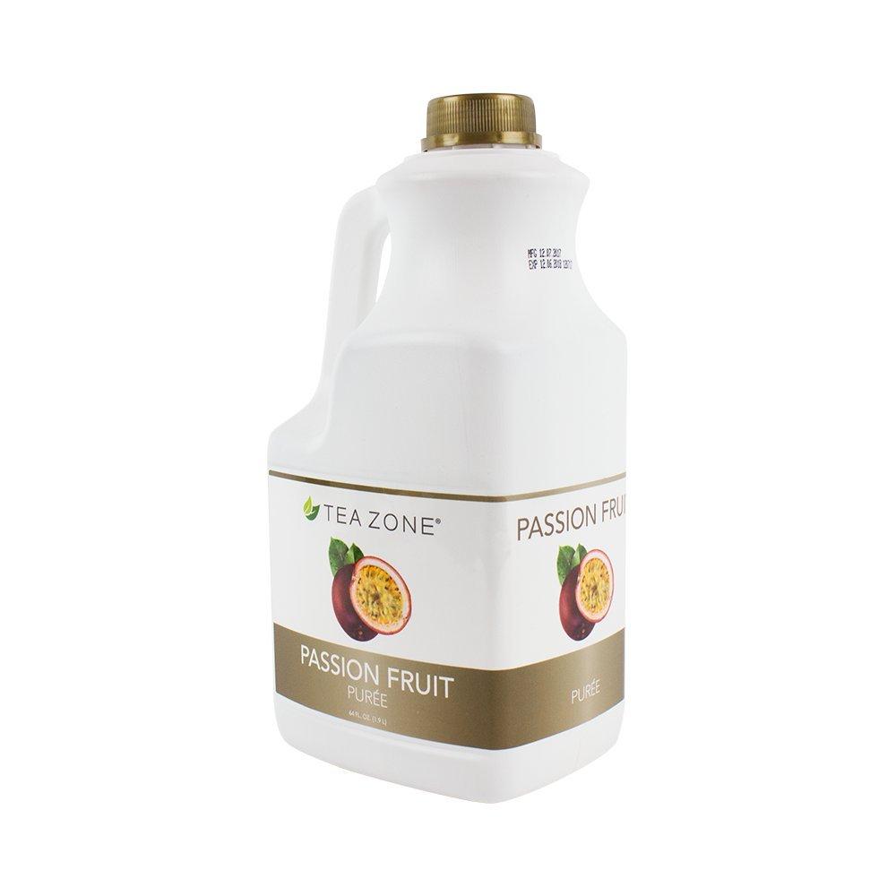 Tea Zone Passion Fruit Puree, 64 Fluid Ounce by Tea Zone (Image #1)