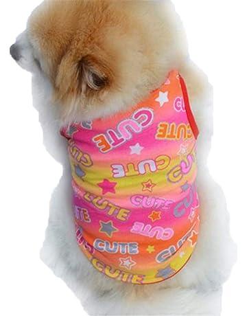 219bd18799b9e Howstar Pet Clothes, Puppy Star Print Shirts Doggie Apparels Soft Warm  Costume