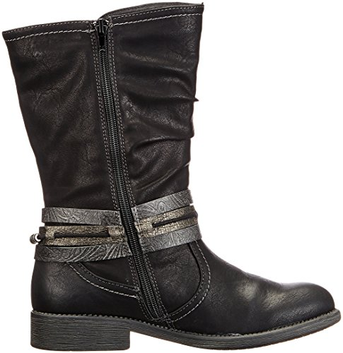 Bruno Banani Women's 264 526 Biker Boots Black (Black 002) mEVXf