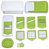 Vegetable Chopper,Onion Chopper,Mandoline Slicer,Vegetable Fruit Dicer,Multi-Function Kitchen Cutter Set/Grater/Peeler/Cutter/Egg Separator And Food Storage,Food Container with Cleaning Brush