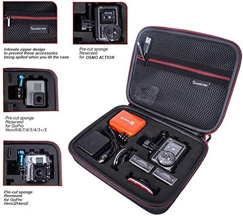 3 2 1 /_S Travel Storage Collection Bag Box Case Cover For Go Pro Hero 6 5 4 3