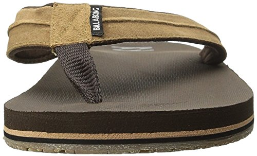 Billabong Heren All Day Impact Lux Supreme Kussen Eva Voetbed Sandaal Flip Flop Bruin