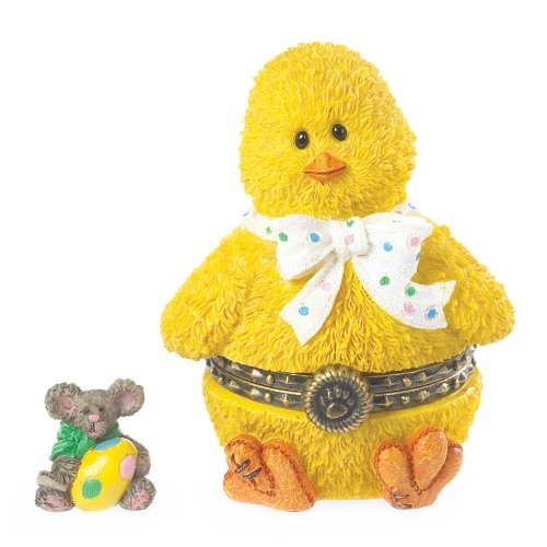 Boyds Bears Easter Treasure Box - Lily's Chick With Eggbert McNibble ()