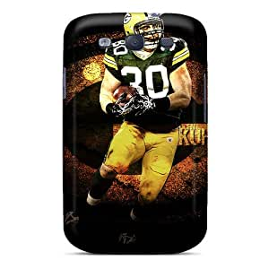 New KPP2908lHXq Green Bay Packers Skin Case Cover Shatterproof Case For Galaxy S3