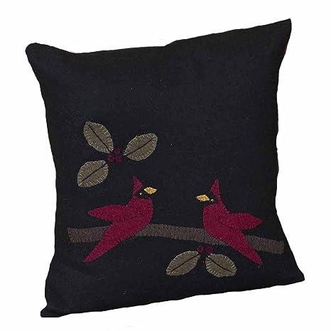 Amazon.com: Home Collection by Raghu - Almohada de Navidad ...