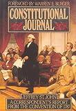 Constitutional Journal, Jeffrey St. John, 0915463423
