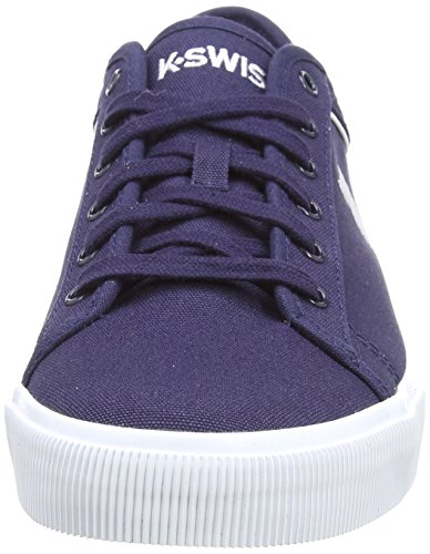 K-swiss Mens Bridgeport 2 Fashion Sneaker Blu / Bianco