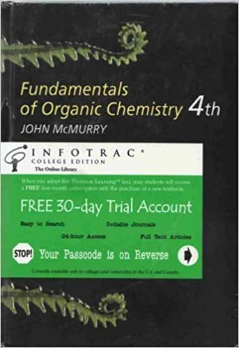 Amazon com: Fundamentals of Organic Chemistry (with InfoTrac