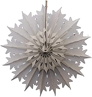 product image for Devra Party 3-Pack 19 Inch Tissue Paper Snowflake (Gray)