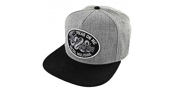 Metal Mulisha - Gorra de béisbol - para hombre gris gris: Amazon ...