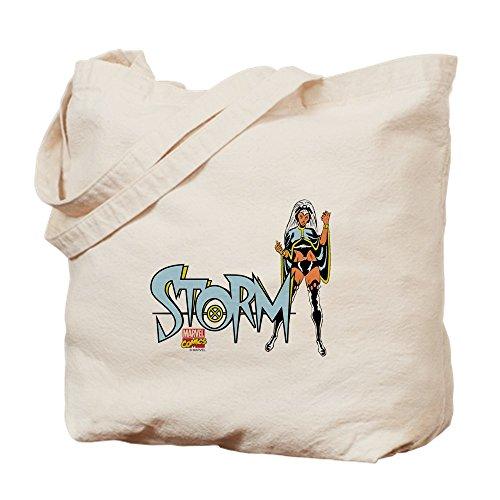 - CafePress Storm Natural Canvas Tote Bag, Cloth Shopping Bag
