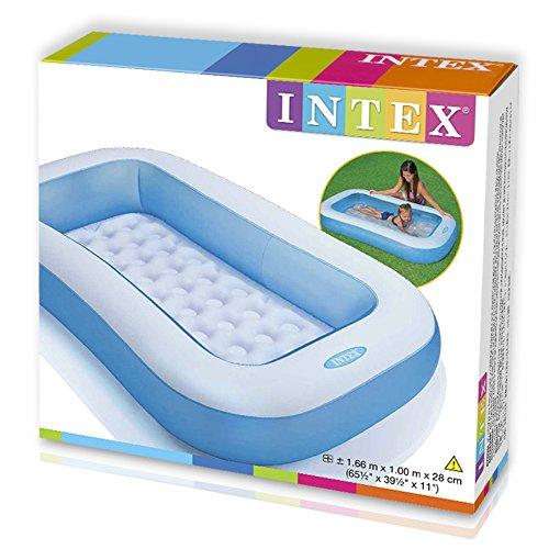Intex 57403np piscina bebe rectangular comprar for Amazon piscinas infantiles