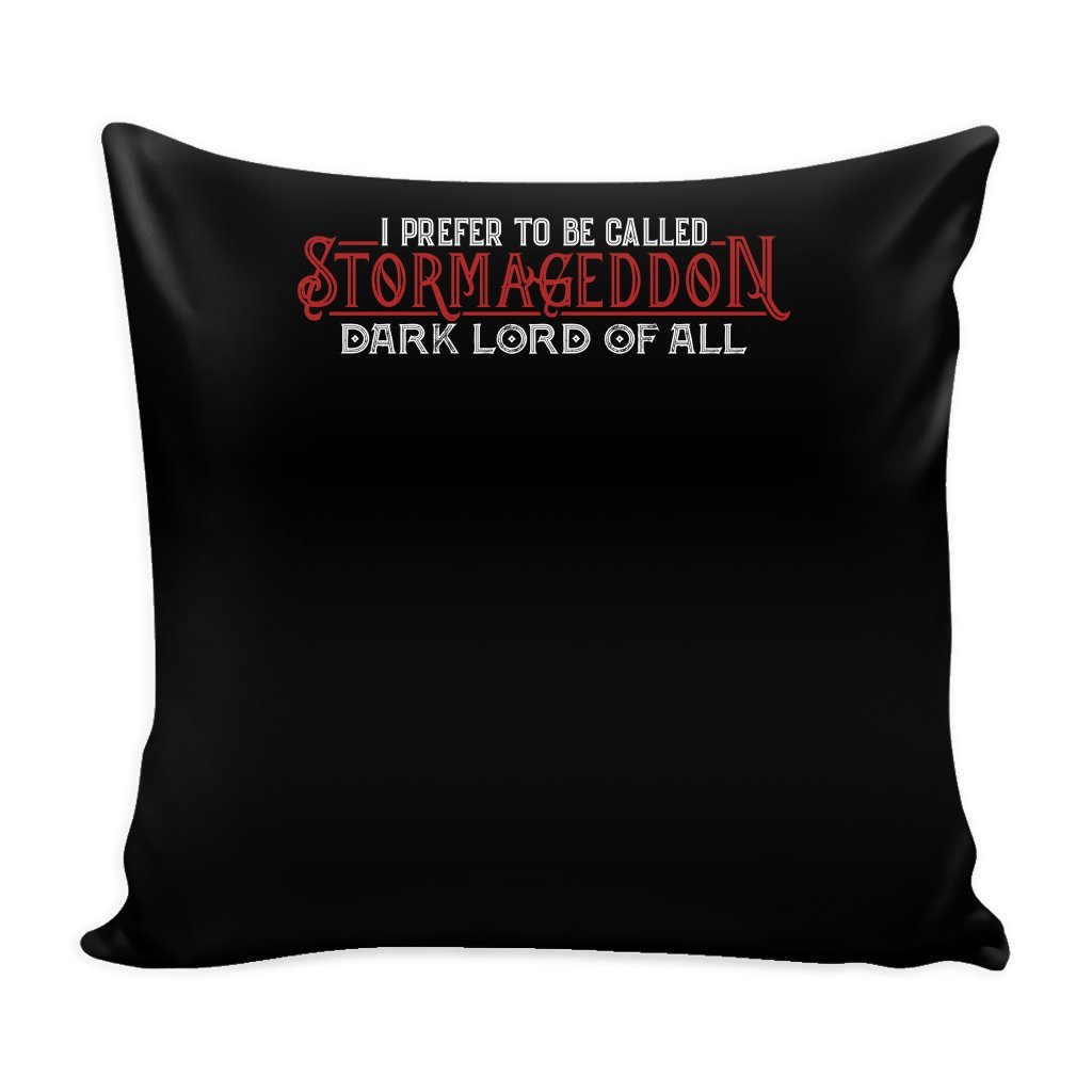 Stormageddon 16 x 16 Pillow Cover Dark Of All Movie gift For Toddler