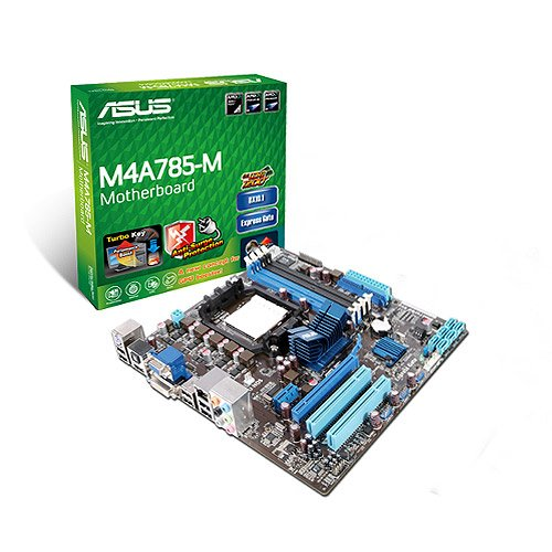 Am2+ Ddr2 Atx Motherboard (ASUS M4A785-M - AM3 - AMD785G - DDR2 - HDMI - uATX Motherboard)